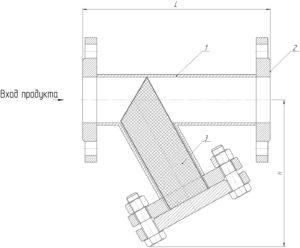 Рабочий чертеж - фильтр ФСФ