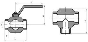 Кран ЗАРГ муфтовый стальной