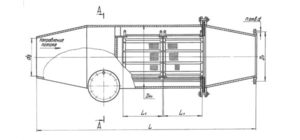 Грязевик ТС 565 - сборочный чертеж